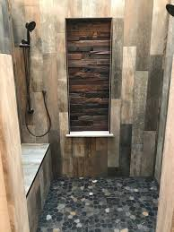 create a focal point in your bathroom shower with this rich real