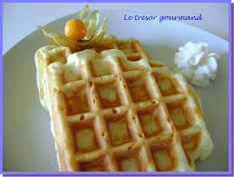 gaufre belge recette