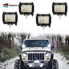 4X OFFROAD 4INCH 18W Led Light Bar Pods 4WD Truck Jeep Flood Bumper ... 4x Offroad 4inch 18w Led Light Bar Pods 4wd Truck Jeep Flood Bumper Amazoncom Led Bars 18w 9v30v Cree Driving Lights Best Led Light Bars For Truck Dualrow 300w 52inch Spot Car Boat 30in Singlerow Hidden Mounting Brackets 20 Inch 100w Spotflood Combo 8560 Lumens Cree How To Install An Bar On The Roof Of My Better Dot Approved 40 42in 240w On Trucks Common Installation Issues Questions Chevrolet Silverado Stealth Torch Series 1 30 Top Ubox Tailgate Strip Waterproof 60 Yellowredwhite