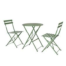 CKB LTD Garden Bistro Set Metal Outdoor - GREEN - Deluxe ... Brompton Metal Garden Rectangular Set Fniture Compare 56 Bistro Black Wrought Iron Cafe Table And Chairs Pana Outdoors With 2 Pcs Cast Alinium Tulip White Vintage Patio Ding Buy Tables Chairsmetal Gardenfniture Italian Terrace Fniture Archives John Lewis Partners Ala Mesh 6seater And Bronze Home Hartman Outdoor Products Uk Our Pick Of The Best Ideal Royal River Oak 7piece Padded Sling Darwin Metal 6 Seat Garden Ding Set