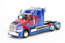 100 Optimus Prime Truck Model Amazoncom Jada 132 Metals Transformers Western