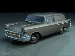 100 1957 Chevy Panel Truck Sedan Delivery 2Door Wagons Deliverys