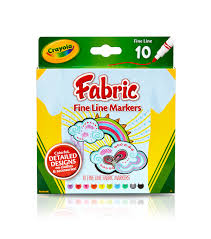 Crayola Bathtub Fingerpaint Soap by Crayola Fine Line Fabric Markers 10 Pkg Joann