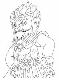Lego Chima Coloring Page