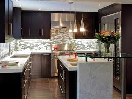 Countertops Backsplash Design Ideas Small Kitchens Simple Pleasing Modern Kitchen Interior 2016
