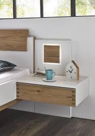 wöstmann schlafzimmer in lack weiß absatz balkeneiche geölt