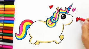 Kawaii Coloring Sheets From Drawsocute Starbucks Unicorn Frapicino How To Draw A Cute And Easy