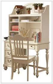 Awesome Antique White Corner Desk With Hutch Hostgarcia