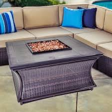 Patio Furniture Under 30000 by Bar Height Fire Pit Table Wayfair