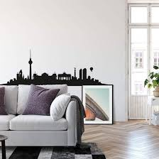wandtattoo berlin skyline ohne schriftzug