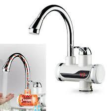 Elektrischer Wasserhahn Durchlauferhitzer Armatur Mischbatterie Elektrischer Wasserhahn 3000w Durchlauferhitzer Armatur Lcd