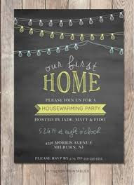 Housewarming Party Invitation Printable Our First Home New Chalkboard 90