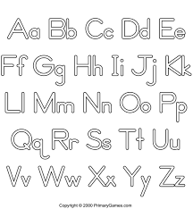 Free Printable ABC Coloring Pages Small And Large Letters