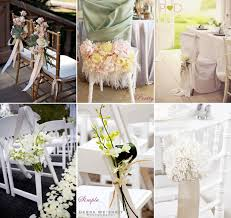 Nice Wedding Chair Decoration Ideas Romantic