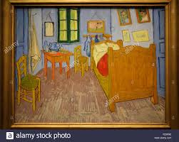 schlafzimmer in arles vincent gogh musée d orsay