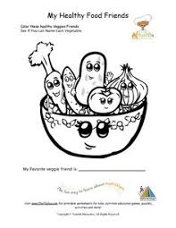Healthy Foods Coloring Page For Young Children Will Use When Discussing Options Teeth