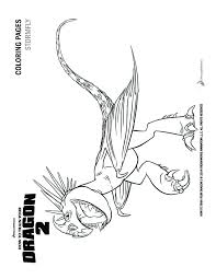How To Train Your Dragon 2 Stormfly Coloring Pagesfly