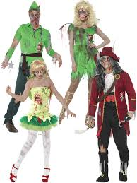 Book Characters For Halloween by Adults Peter Pan Zombie Costume Mens Ladies Fairy Pirate Halloween