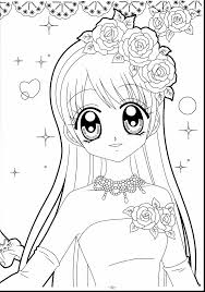 Unbelievable Kawaii Anime Girl Coloring Pages With Of Pets From Jewelpet For Kids