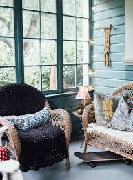 Eclectic Farmhouse With Shabby Chic Furniture