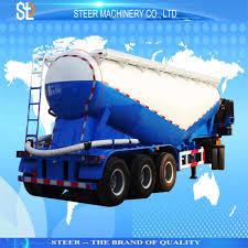 100 Bulk Truck And Transport China Cement Powder Tanker Tank Trailer Break