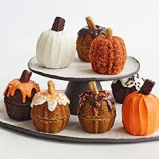 Nordic Ware Pumpkin Cake Pan Recipe by Turn Mini Bundt Cakes Into Mini Pumpkins For A Fun Not To Mention