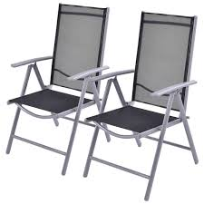 2 X Adjustable Textilene Folding Patio Chairs - Home Done Black Metal Folding Patio Chairs Patios Home Design Wood Desk Fniture Using Cheap For Pretty Three Posts Cadsden Ding Chair Reviews Wayfair Rio Deluxe Web Lawn Walmartcom Caravan Sports Xl Suspension Beige Steel 2 Pack Vintage Blue Childs Retro Webbed Alinum Kids Mesmerizing Replacement Slings Depot Patio Chairs Threshold Marina Teak Lawn 2052962186 Musicments Outdoor And To Go Recling Find Amazoncom Ukeacn Chaise Lounge Adjustable