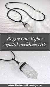 Tahari Home Lamps Crystal by Diy Rogue One Kyber Crystal Necklace Geek Fashion Geek Chic