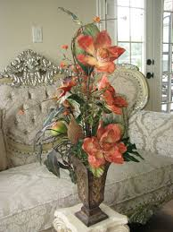 Silk Flowers Floral Arrangements