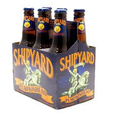 Shock Top Pumpkin Wheat by Shipyard Pumpkin Head 12oz Bottle 6 Pack Beer Wine And