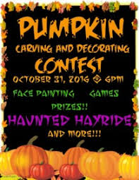 Halloween Cubicle Decorating Contest by Free Online Halloween Flyer Maker Postermywall
