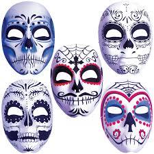 Easy Sugar Skull Day Of by Dia De Los Muertos Mask Mens Day Of The Dead Sugar Skull Costume