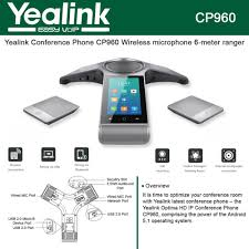 Yealink IP Conference Phone CP960 Wireless Microphone, Pairing Via ... Polycom Soundstation Ip 6000 Voip Conference Phone 2256001 Polycomsoundstati30voipcferencephone106622001 Soundstation Ip 5000 Voip Rajatelepon Business Voice Over Phones Cisco Tandberg E20 Ttc716 Video Telephone Original Soundpoint 301 Sip 2201 7936 Station W Oem Power Kit Cp Cloud Based Phone System For Companies Alcatel Phones Offered By Infotel Systems Unparalled Clarity Voip Ufo600 Szhen Vscord Audio Govoip