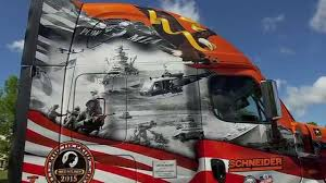 2015 Ride Of Pride Truck: Patriot - YouTube Patriot Trucks Are Repurposed For Reuse My Uhaul Storymy Story American Holdings Llc News National Trucking Icon And Flag Design Royalty Free Cliparts Crete Carrier Recognizes Veterans At Fleet Ceremony Local Peterbilt 389 V112 Patriot Skin Mod Truck Simulator Mod Network Pdq America Gruard Rider Struck Killed During Funeral Procession Company Driver Owner Operator Driving Jobs Lines Freightliner And Western Star 2012 Used Jeep Fwd 4dr Limited Bayona Motor Werks Serving 2019 Freightliner 122sd Sleeper For Sale 561154 Cargo Solutions Freight Logistics