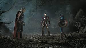 Captain America Chris Evans Hemsworth Iron Man Marvel Comics Screenshots The Avengers Movie Trailer