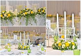 Yellow And Lime Wedding Flowers