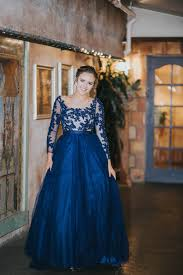 utah dress store utah prom dress long dress flowy ballgown blue