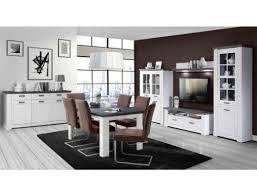 wohnzimmer weiß grau beleuchtung schrankwand tisch highboard