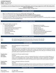 Download Internship Resume Samples