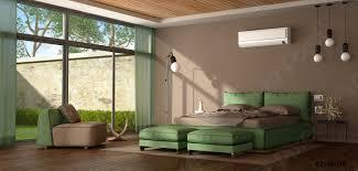 foto auf lager braun und grün modernes hauptschlafzimmer