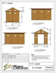8x12 Storage Shed Blueprints by 12x16 Shed Plans For Build It Yourself Everyone Is Finding That