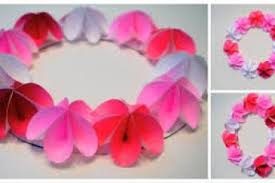 How To Make Diy Handmade Paper Flowers Art And Craft For Kids Simple Home