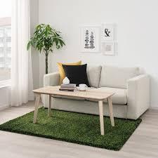 vindum teppich langflor grün 133x180 cm ikea österreich