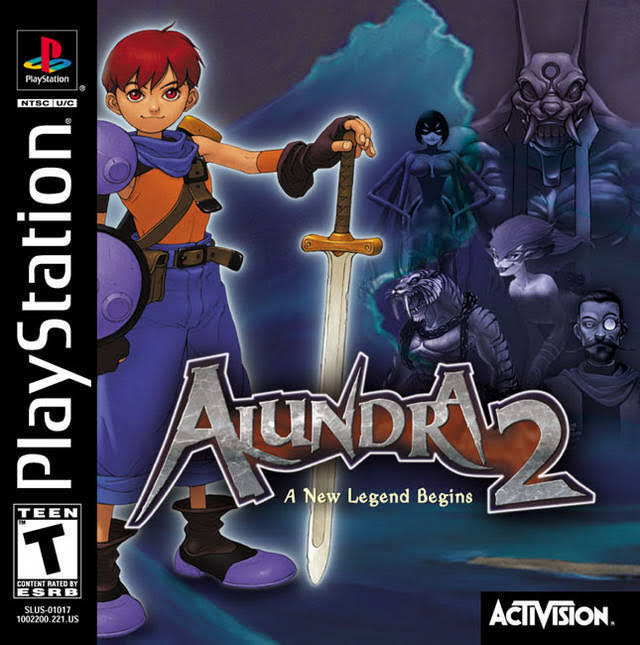 Alundra 2: A New Legend Begins - Playstation