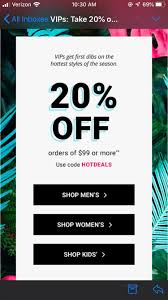 FOOT LOCKER 20% OFF CODE: HOTDEALS : Frugalmalefashion Footlocker Free Shipping Creme De La Mer Discount Code Fresh Lady Foot Locker Employee Dress Code New Mode Flx Jordan Shoe Sneakers Flight Origin 2 In Black Womenjordan Shoes 25 Off Promo Coupon Answer Fitness Womens Athletic Shoes And Clothing Kids Wdvectorlogo Coupons Foot Locker Canada Harveys Coupon Policy 2018 Discount Sligro Slagompatronen Amazing Workout Routines For Women At Homet By Couponforless Issuu This Gets Shoppers Off Everything Printable Coupons Black Friday Met Rx Protein Bars