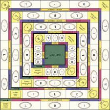 Liar Game Board Graphic Design
