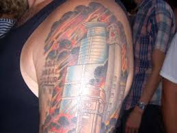 Building On Fire Tattoo