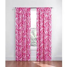 Walmart Eclipse Thermal Curtains by Eclipse Kids Zebra Energy Efficient Blackout Curtain Walmart Com