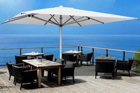 Large Fim Cantilever Patio Umbrella by Commercial Cantilever Umbrella Eclipse Cantilever Square Umbrella