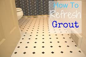 Diy Regrout Tile Floor by How To Refresh Grout Sweet Pea